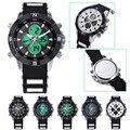 A7 NoEnName Мода Улучшенный Мужчины Военные Часы Спорт Наручные Часы Силиконовые Модные Часы Кварцевые Часы оптовая Бесплатная доставка