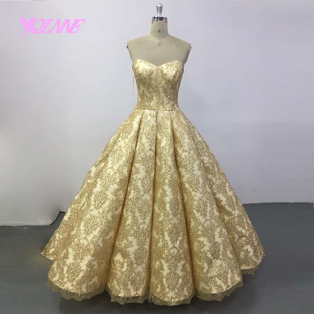 YQLNNE 2018 Gradient Ball Gown   Evening     Dress   Long Sequins Lace-up Runway Fashion   Dresses   Vestido De Festa