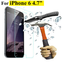0.2 mm screen protector steel film  For iphone 6 4.7″ explosion-proof membrane tempered glass