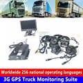 โทรศัพท์มือถือการดูแบบเรียลไทม์รีโมทคอนโทรลไร้สาย 4G HD SD card loop วิดีโอ 3G GPS รถบรรทุกการตรวจสอบชุด...