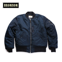 bronson mans short design us air force B15C cotton and wool jacket