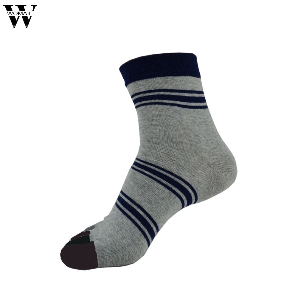 Jan 27 Spring Autumn Casual Men Five Finger Toe Socks