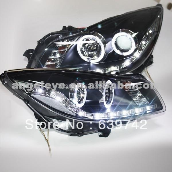 For Buick Verano Regal Opel insignia Angel Eyes LED Strip Head Lamp 2009-2013 Year LDV1