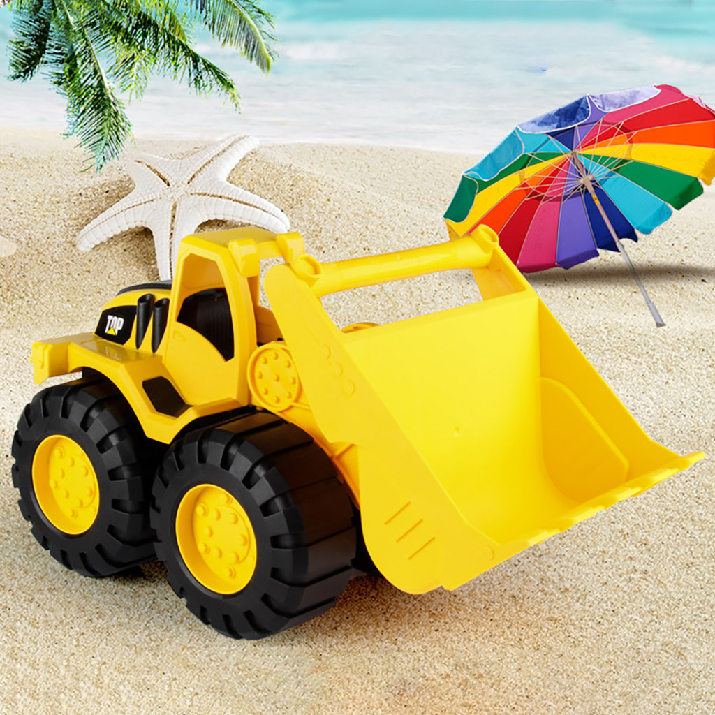 Beach Toys Large car Sand Engineering Truck Educational Toy Dump Truck Kids Gift Diecasts Toy Car Baby Car Model Kid's Toys
