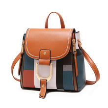 Designer Backpacks Women Leather Backpacks Female School BagS for Teenager Girls Travel Back Bag Retro Bagpack Sac A Dos цена 2017