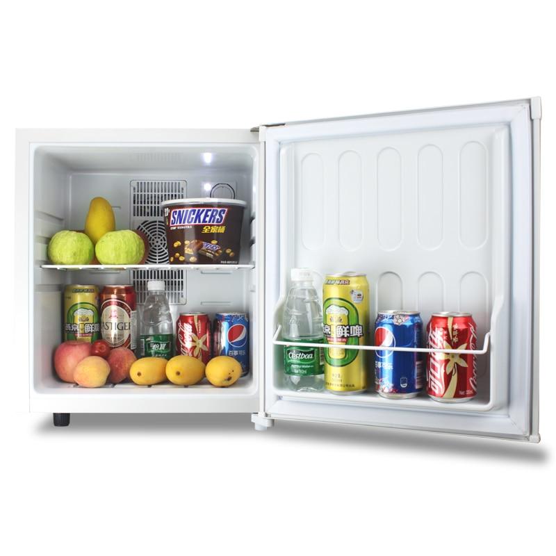 Household Mute 28L Mini Electric Refrigerator Room Hotel Single Compact Fridge Sample Wine Energy Saving Freezer Machine