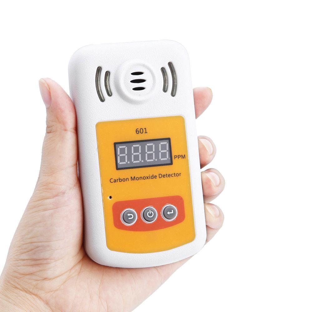 Portable SMART SENSOR LCD Carbon Monoxide Meter Detector CO Gas Tester 0-1000ppm