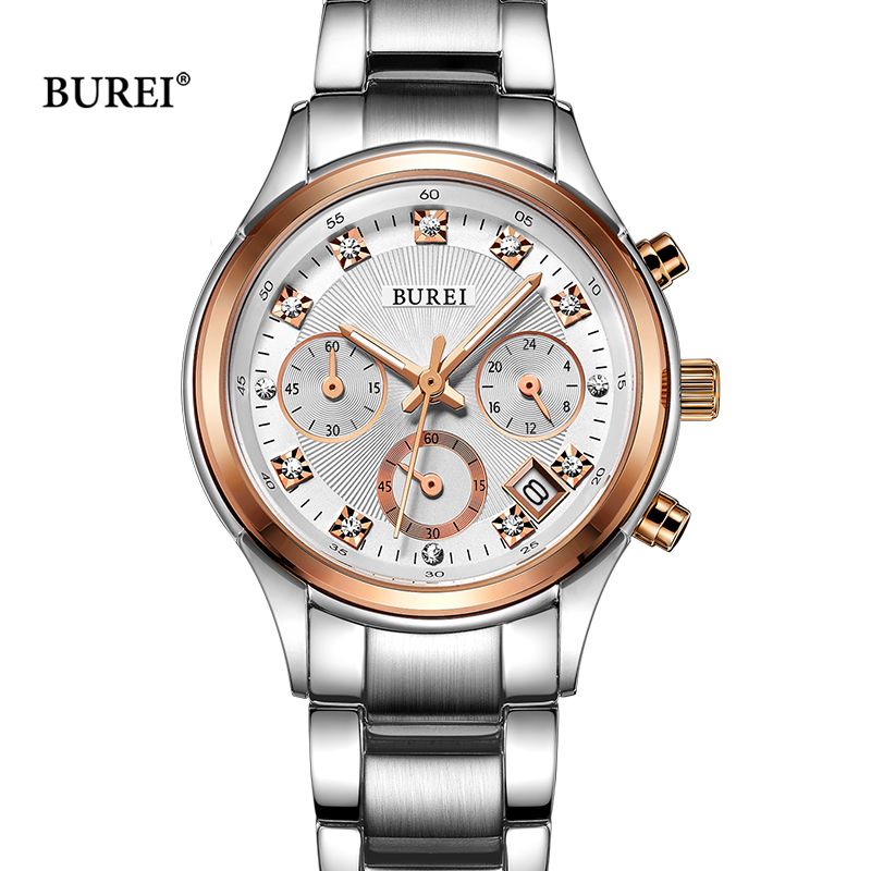 Reloj De Mujer 2017 Relogio Feminino saat Women Watches Brand Ladies Quartz Watches Waterproof Fashion Women Clock Montre Femme sinobi ceramic watch women watches luxury women s watches week date ladies watch clock montre femme relogio feminino reloj mujer