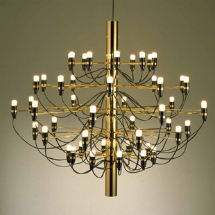 Modern home decoration 18/30/50 bulbs gold color Chandelier Living Room Living Room Dinning Room Decor light