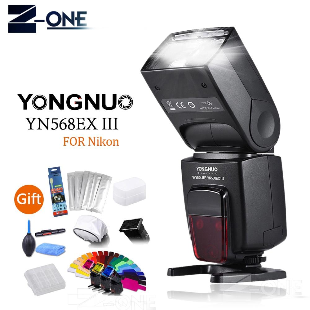 Yongnuo YN-568EX III YN568EX Flash Speedlite Speedlight TTL Auto 1/8000s for Nikon D5200 D3100 D750 D80 D90 D600 D650 D700 D60 meike mk d750 battery grip pack for nikon d750 dslr camera replacement mb d16 as en el15 battery