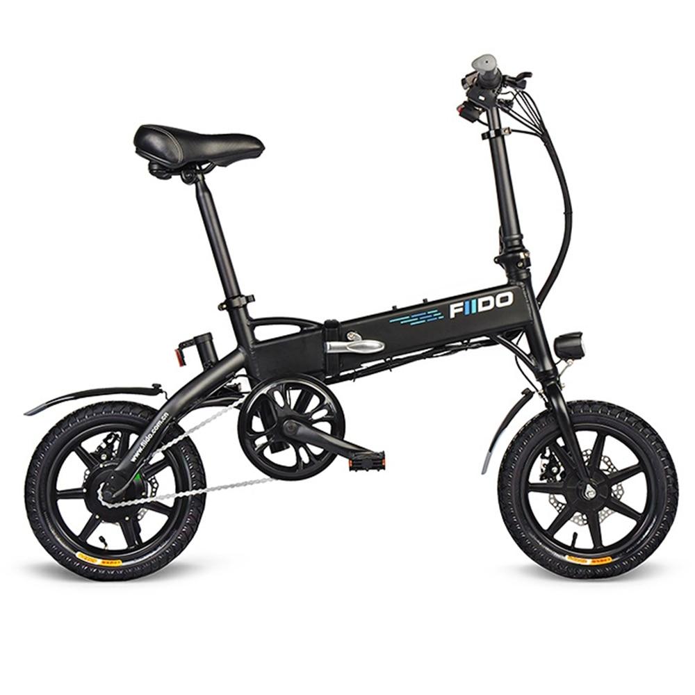 FIIDO D1 Mini Aluminum Alloy Smart Folding Electric Bike Moped