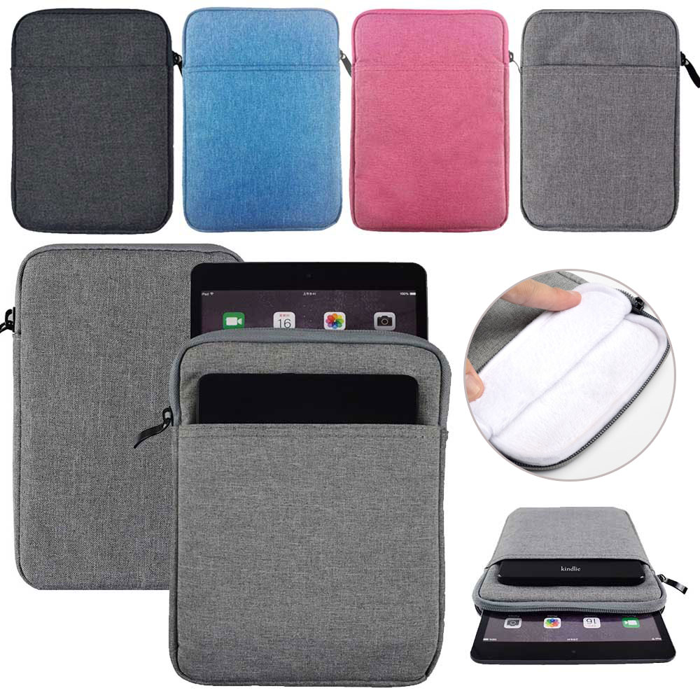 Sleeve Bag Pouch Case For iPad Mini 1 2 3 4 5 Cotton Canvas Bag Tablet Shockprook Pouch Cover for iPad mini 7.9 Case PocketSleeve Bag Pouch Case For iPad Mini 1 2 3 4 5 Cotton Canvas Bag Tablet Shockprook Pouch Cover for iPad mini 7.9 Case Pocket