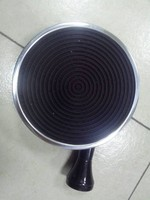 Hot Sale 155mm Diameter Infrared Gas Burner Enamelled Black Color Cordierite Ceramic Gas Burner Round Gas