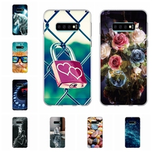 For Samsung Galaxy S10e Cover Soft TPU Silicone For Samsung Galaxy S10e Case Love Patterned For Samsung S10e Funda