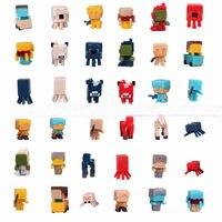 36 יח'\חבילה Minecraft משחק אבני בניין צעצועי Brinquedo נוקמי גיבור ליגת צדק צעצוע פעולת צעצועי דמויות מתנות # E