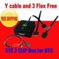 Lastest 2 xtc clipe xtc2clip para htc ferramenta de reparo do telefone móvel & unlock repair & flash de desbloqueio frete grátis