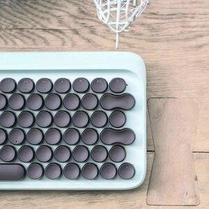 Image 3 - Youpin LOFREE Dot Bluetooth Mechanische Tastatur System breiten Einsatz Grün Achse 79 Schlüssel Tastatur einstellbare helligkeit Für Smart Home