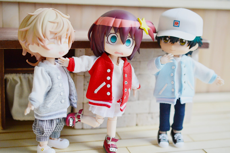 Doll coat for 1/12 bjd Doll Accessories Azone Obitsu11 OB11 doll accessories for azone ob11 Baseball clothing