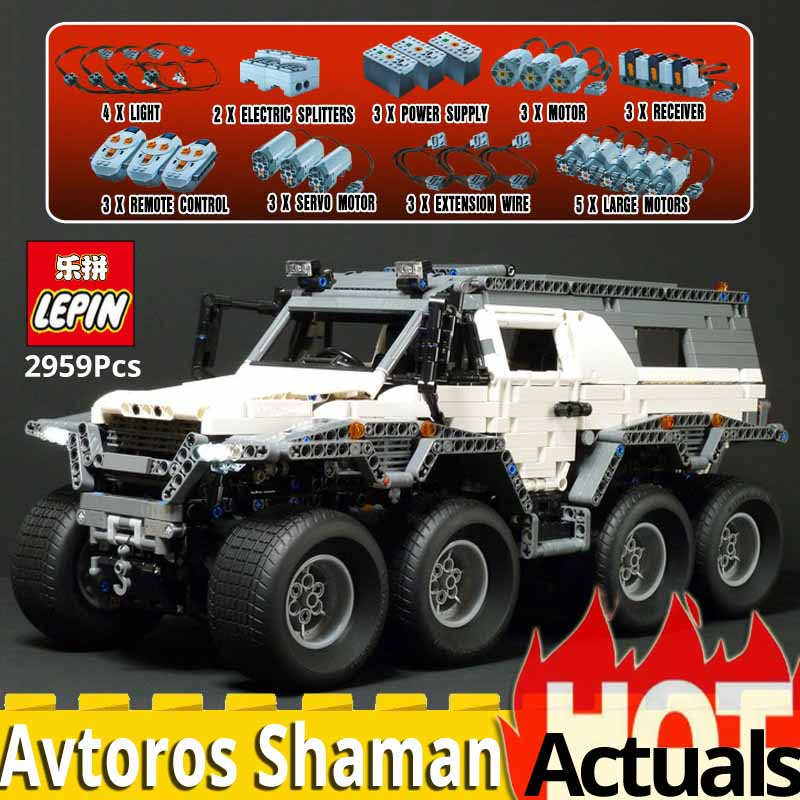 LEPIN 23011 technic parts military vehicle Model set MOC Building Kits Block Bricks Compatible legoings 5360 toys for children 2816 pcs lepin 23011 technic series off road vehicle model moc assembling building kits block bricks compatible 5360 toy