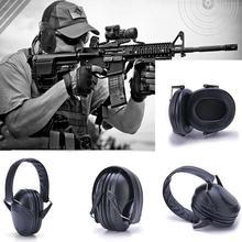 Portable Anti-Noise Earmuff Ear Muff Shooting Hunting Protection Ear Protector Soundproof Earmuff
