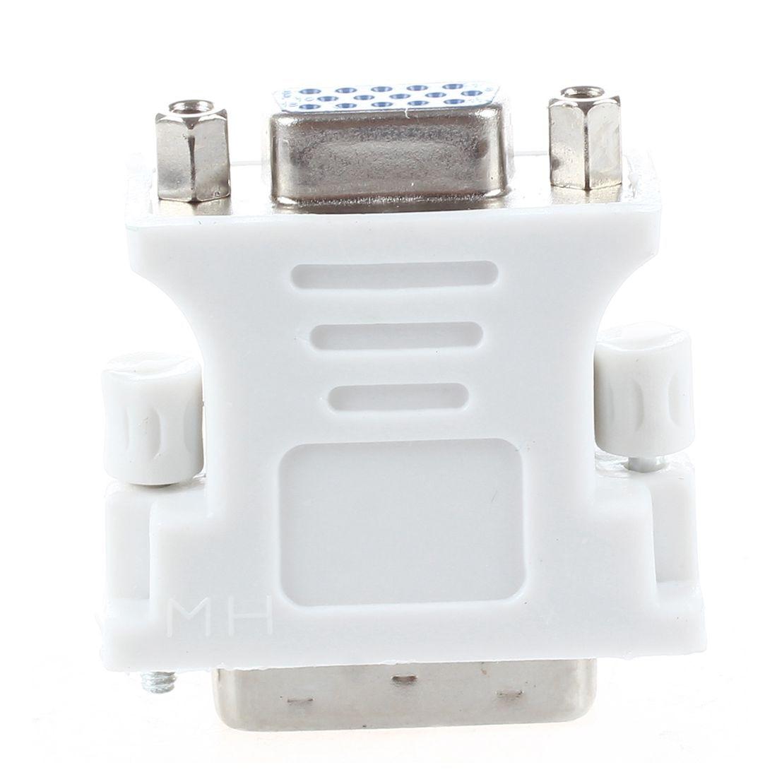 DVI male adapter (DVI - D 24 1) to female VGA (15-pin) new dvi male adapter dvi d 24 1 to female vga 15 pin