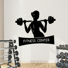 Classic Fitness Center Pvc Wall Decals Home Decor Bedroom Nursery Decoration