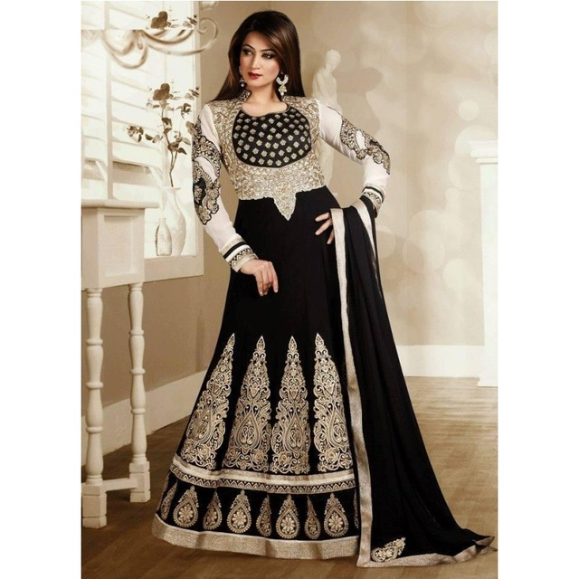 Luxury Gold And Black Evening Dresses Kaftan Dubai Indian 2016 Prom