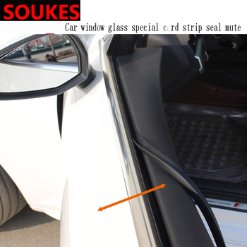 1m Car Interior Window Gap Soundproof Trim Seal Strip For Audi A3 A4 B8 A6 Q5 C7 B5 Mercedes Benz W203 W204 W205 W124 W212 AMG image