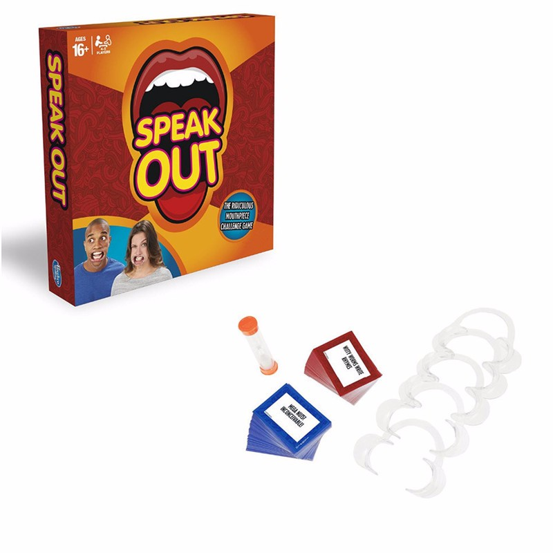 Fun 1pcs speak out game toy best selling board game interesting party game toy antistress (1)
