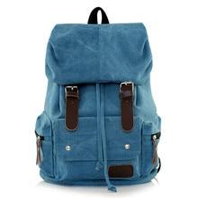 KUNDUI Luggage women's backpack waterproof girl Canvas travel computer bags women double-shoulder casual school bag Mochila