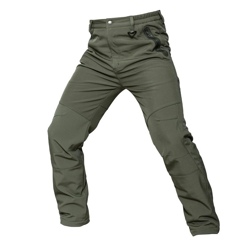 Pantalones cálidos de invierno para hombres Pantalones cargo Vellón - Ropa deportiva y accesorios - foto 3