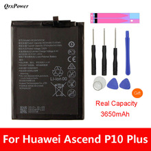 QrxPower Replacement Battery 3750mAh HB386589CW For Huawei P10 plus VKY-AL00 Honor 8X Play Nova 4 Mate20 Lite qrxpower replacement battery 3750mah hb386589cw for huawei p10 plus vky al00 honor 8x play nova 4 mate20 lite