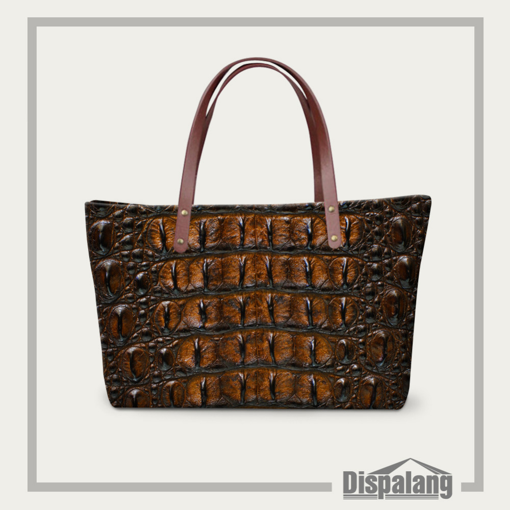 Luxury Spanish Brand Women Handbags Snakeskin Printing Beach Bags High Quality Bolsos Las Casual Tote Shoulder In From Luggage