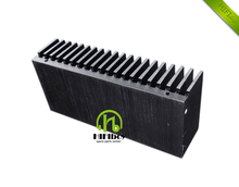 DIY Cooler Aluminum Heatsink Grille Shape Radiator Heat Sink Chip 155*67*40mm IC Power Transistor