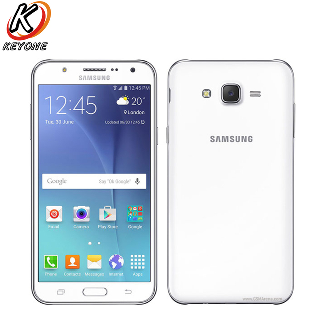 Original Samsung Galaxy J7 J700F Mobile Phone 5.5
