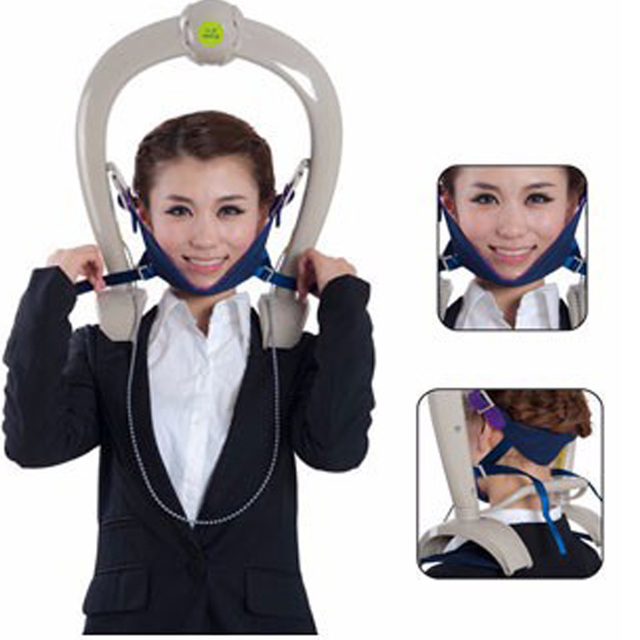 Neck Support Brace Trazione Cervicale Cuscino Massager