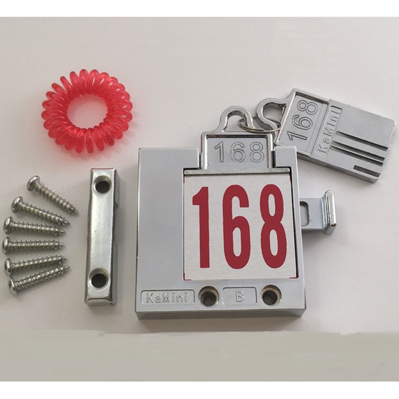 5Sets/Lot Locker Cabinet Lock Bracelet Card Lock Set For Gym Swim Pool Inserting key5Sets/Lot Locker Cabinet Lock Bracelet Card Lock Set For Gym Swim Pool Inserting key