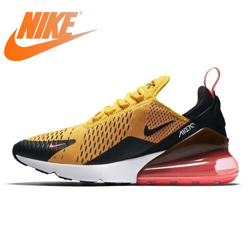 Original Authentic NIKE Air Max 270 Mens Running Shoes Full Color Classic Outdoor Sports Shoes Comfortable BreathableAH8050-006Original Authentic NIKE Air Max 270 Mens Running Shoes Full Color Classic Outdoor Sports Shoes Comfortable BreathableAH8050-006