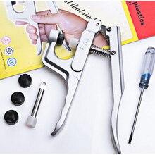 ; 10 шт./лот KAM, для установки пластиковых кнопок щипцы для кнопок DK-001 защелки инструмент для создания креплений защелок комплект ювелирный станок инструмент для T2 T3 T5 T8