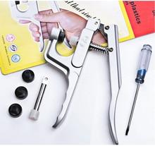 Free ship 10Pcs/Lot Kam Plastic Snap Button Plier DK-001  Snaps Fasteners Machine Snaps Kit Jewelry Machine Tool for T2 T3 T5 T8