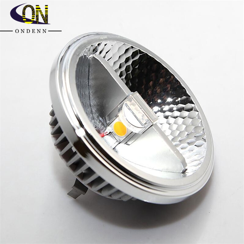 DC12VAC110V 220V Dimmable AR111 15W COB LED Spotlight ES111 QR111 GU10 G53 LED Indoor Light Equal to 120W Halogen Free Shippin