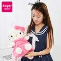 Juguete de peluche Hello Kitty hello Kitty bebé Suave Lindo de La Historieta niños mochila femenina mochila para Niños de Regalo