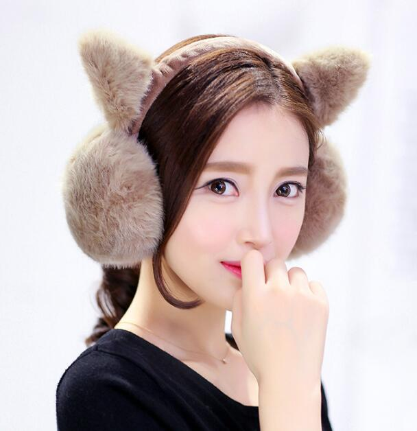 2017 New Fashion Cute Headphones Winter Warm Headphones