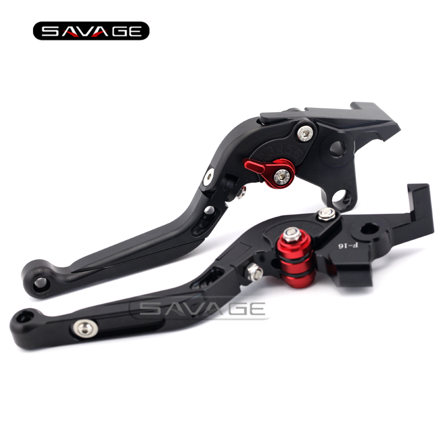 For YAMAHA XJR 1300/1200 XJR1300 XJR1200 FJR1300 XT1200ZE Black Motorcycle Adjustable Folding Extendable Brake Clutch Lever billet alu folding adjustable brake clutch levers for motoguzzi griso 850 breva 1100 norge 1200 06 2013 07 08 1200 sport stelvio