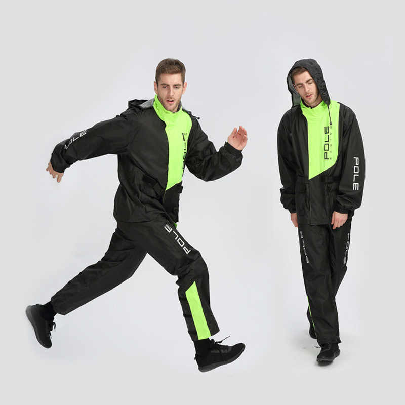 Motorcycle Raincoat Sports Walking Climbing Jacket Men Motorcycle Waterproof Suit Rain Coat Suit Cycling Motorbike Raincoat
