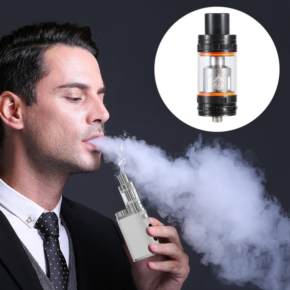 Portable Electronic Cigarette TFV8 Cloud Beast Tank Atomizer Top Filling System 6ML Tank with Sub Coil Heads Kit