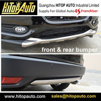 Front Rear Stainless Steel Bumper Skid Plate For HR V HRV Vezel ISO9001 Quality Supplier Newest