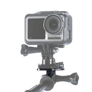 Image 3 - VIJIM GP 2 voor Gopro voor DJI OSMO Action Sport Camera Accessoires Camera Quick Release Plaat Beugel Montage Adapter Base