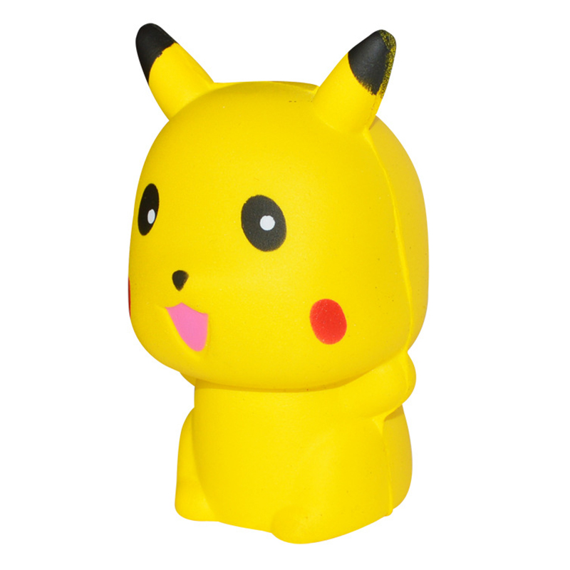 Squeeze Exquisite Fun Kawaii Pikachu Squishy Scented Charm Slow Rising Simulation Anti Stress Interesting Toys For Kids Gifts