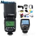 Беспроводная вспышка Godox TT685C TTL  2 4 ГГц  высокоскоростной 1/8000 с GN60 + Xpro-C TTL передатчик для камеры Canon Eos + подарок
